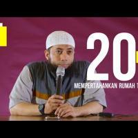 20 Kiat Mempertahankan Rumah Tangga - Ustadz DR Khalid Basalamah MA